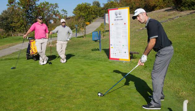 Participantes en el Trofeo de Golf 'Niños Contra el Cáncer'.