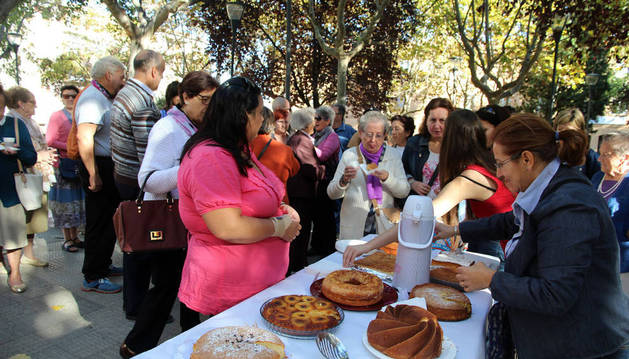 Bizcochos solidarios en un concurso de Anasaps