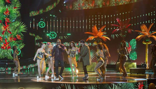 Enrique Iglesias y Nicky Jam grandes ganadores de LAMA