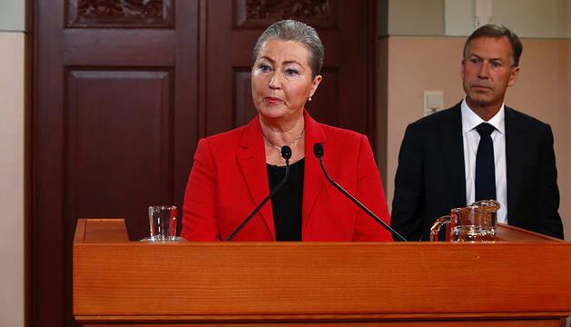 Kaci Kullman Five, nueva directora del Comité del Premio Nobel de la Paz noruego.