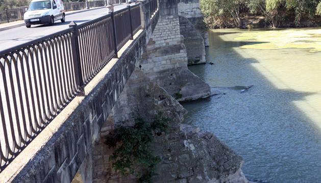 El Gobierno foral realizará reparaciones en el puente de Tud
