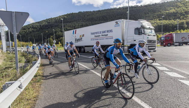 Los atropellos a cicloturistas se han reducido de 15 a 5 en el último año