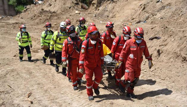 Suben a 263 los muertos por el alud sobre un asentamiento en Guatemala