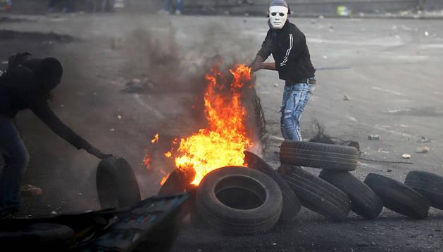 Catorce palestinos muertos por disparos de las fuerzas israelíes