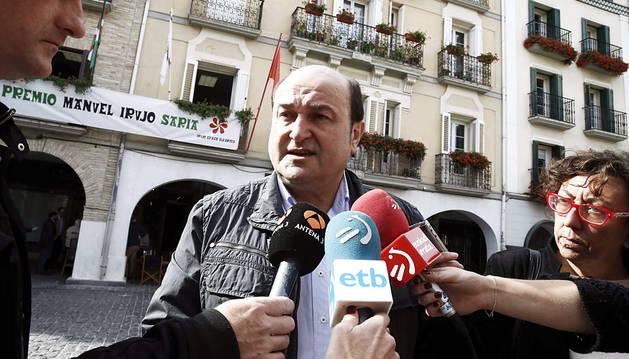 Ortuzar pide responsabilidad para la defensa de Convenio y Concierto