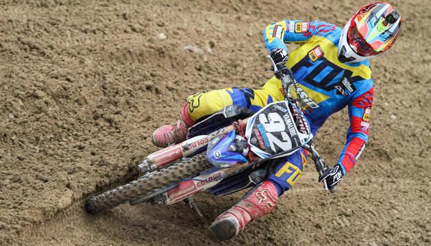 Valentín busca asegurar el segundo lugar del campeonato España en MX-2