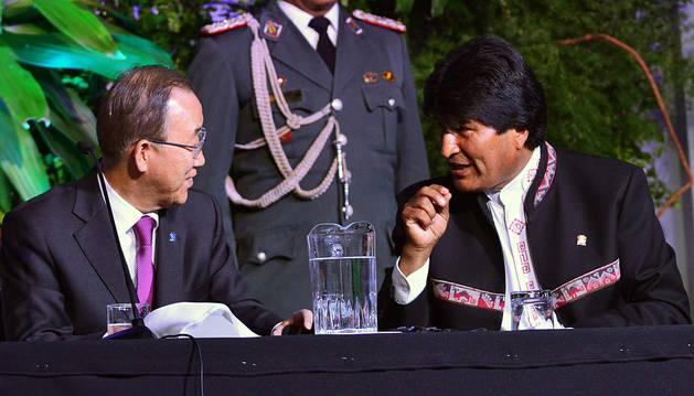 Ban Ki-moon respalda un foro social sobre cambio climático