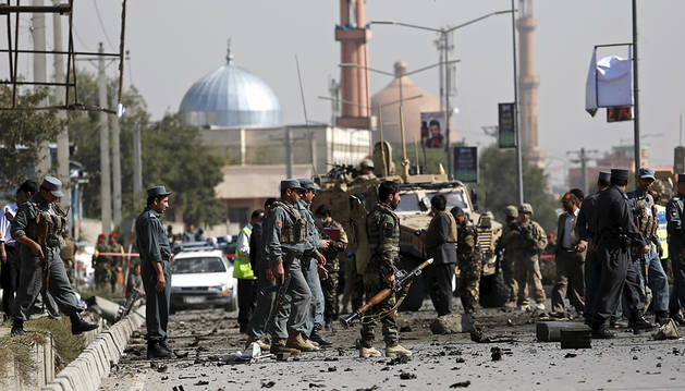 Un suicida talibán hiere a tres civiles en un ataque en Kabul