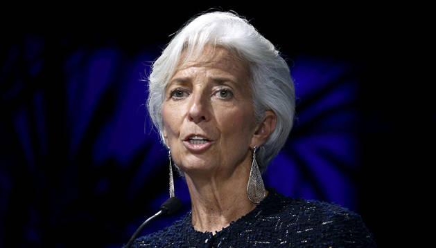 Lagarde aboga por el desarrollo sostenible y la inclusión social