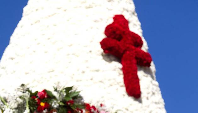 Ofrenda floral a la Virgen del Pilar 2015