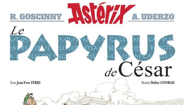 Astérix choca con la prensa en 'El papiro de César'