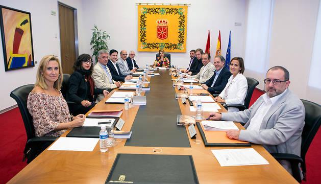 Reunión de la Mesa y Junta de Portavoces.
