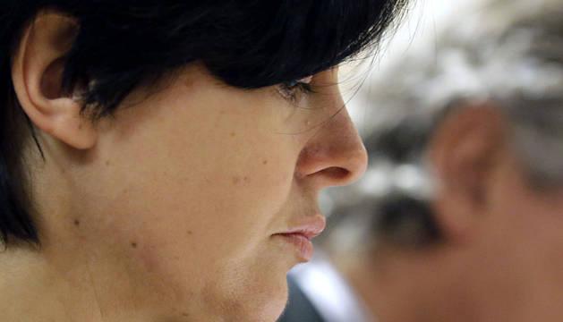 Rosario Porto, en el juicio.
