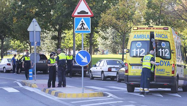 Crece la preocupación por el aumento de atropellos este año en Pamplona
