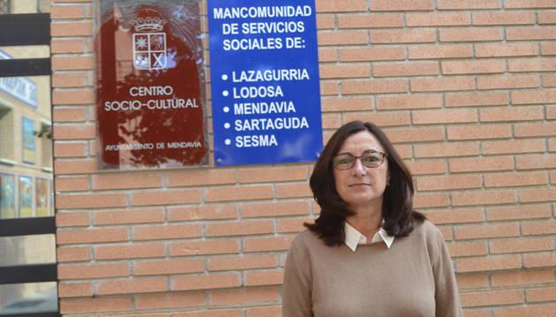 Fabiola Martínez Sancho, en la sede de la mancomunidad.