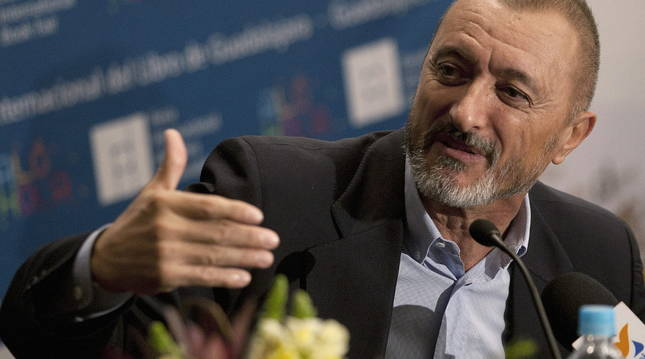 El escritor y académico Arturo Pérez-Reverte