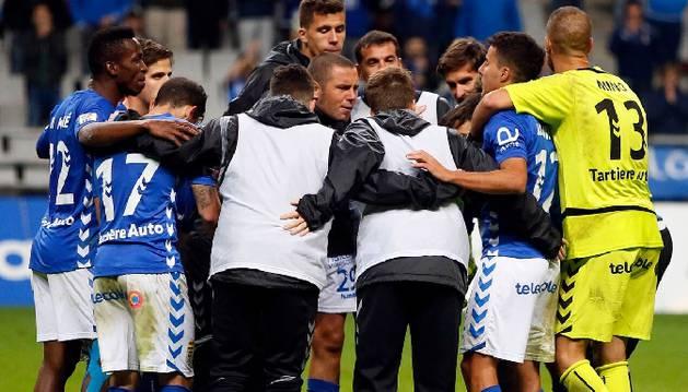 Oviedo-Mirandes (2-3).
