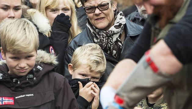 Polémica tras una disección animal a la danesa