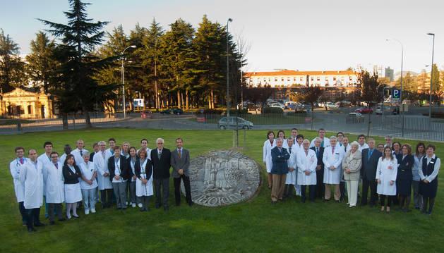 Profesionales de la CUN, del CHN y representantes de instituciones de enfermedades renales.