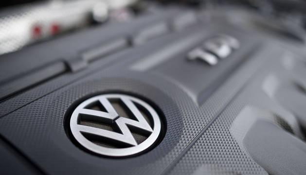 Un motor de Volkswagen.