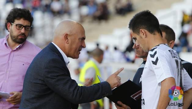 Sampedro, técnico del Albacete.
