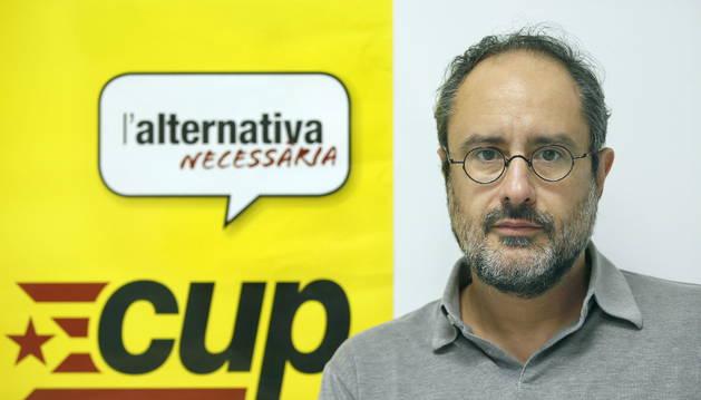 """ANTONIO BAÑOS (CUP): """"PARA OBTENER LA INDEPENDENCIA HAY QUE 'MONTAR UN POLLO'"""""""