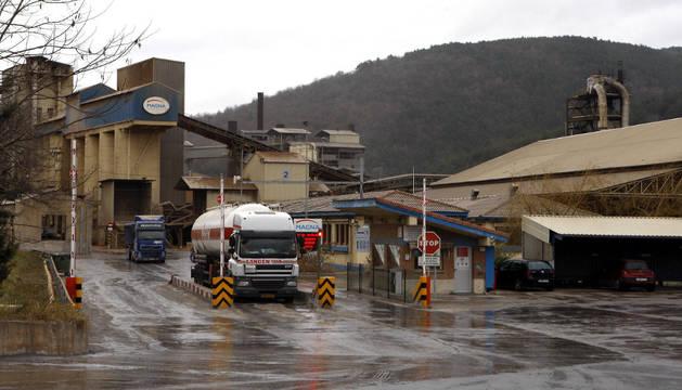 Sede central de la empresa Magnesitas Navarras (Magna) en Zubiri, valle de Esteribar.