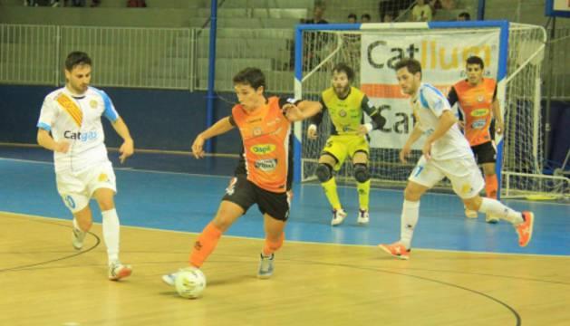 El Aspil-Vidal, contra el Santa Coloma.