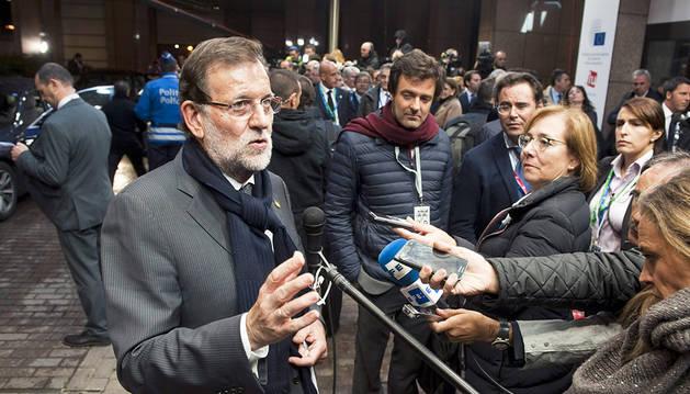 Rajoy busca una foto de unidad tras una