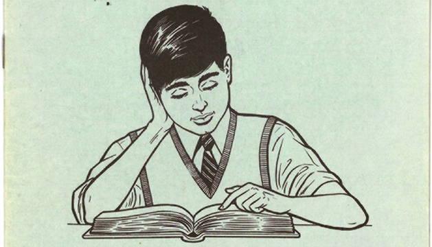 Portada de uno de los clásicos Cuadernos Rubio.