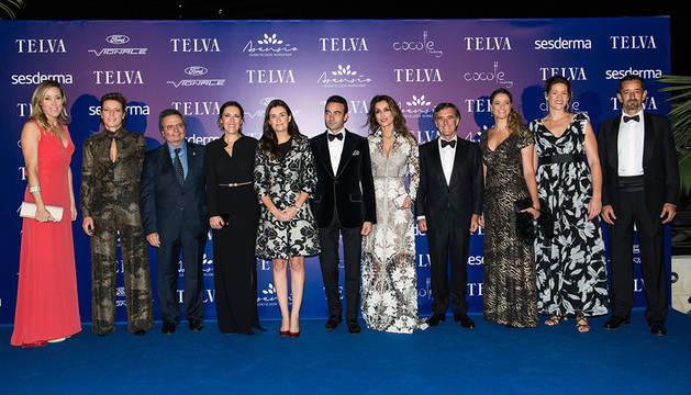 Foto de grupo de los galardonados.