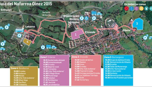 La fiesta de las ikastolas  prepara un circuito de 5,8 kilómetros para 100.000 visitantes