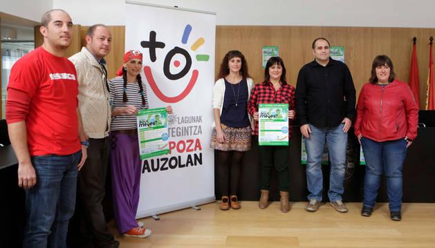 Participantes en la presentación de la jornada.