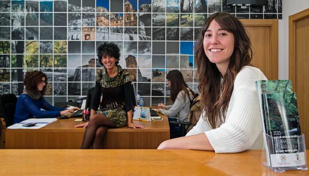 Marta Astiz, en la sede del consorcio.