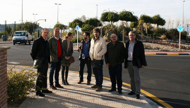 Lucas Bernal, Carlos Pérez, Amaya Pardo, Ignacio Bombín, Daniel López, Miguel Chivite y Juan Ruiz.