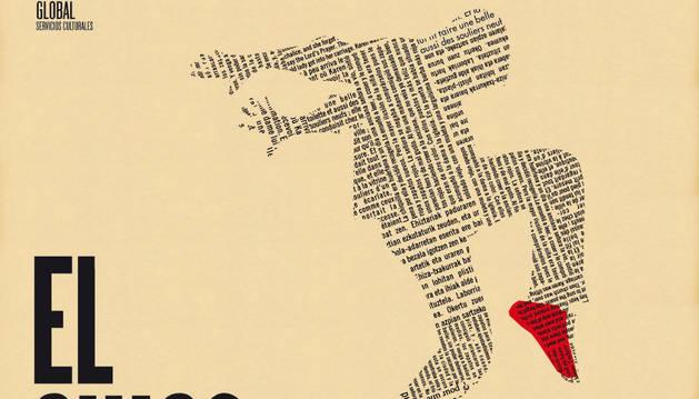 Cartel de 'El chico de las zapatillas rojas'.