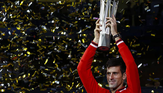 Novak Djokovic, en Shanghái.