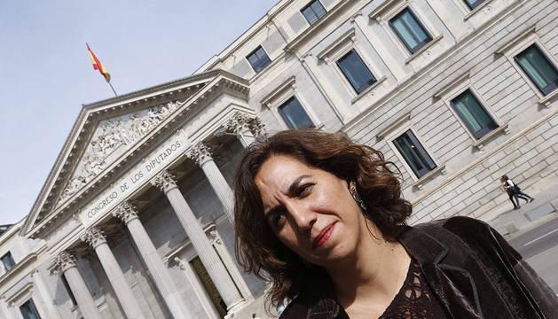 Irene Lozano, ante el Congreso.