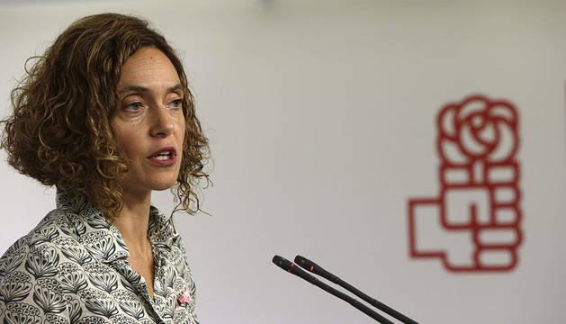 La secretaria de Estudios y Programas del PSOE, Meritxell Batet.