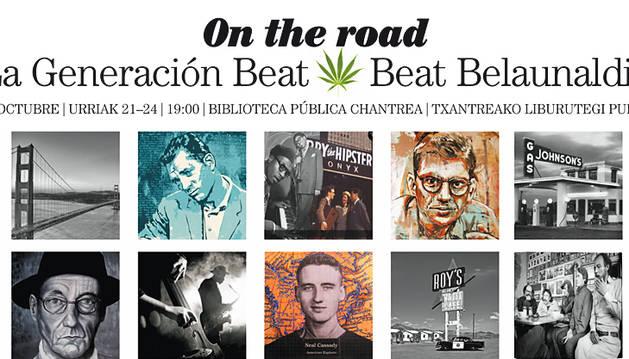 La 'generación beat' llega a la bilbioteca pública de la Chantrea