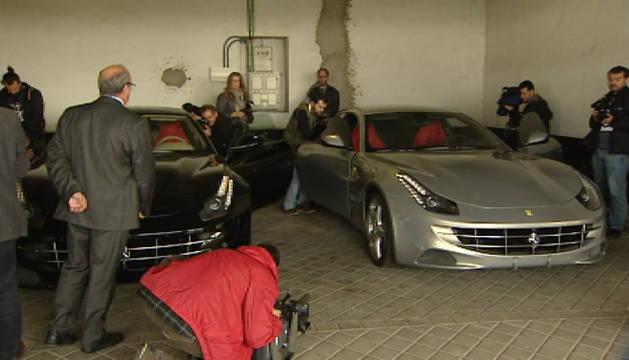 Los Ferraris del rey Juan Carlos, a subasta
