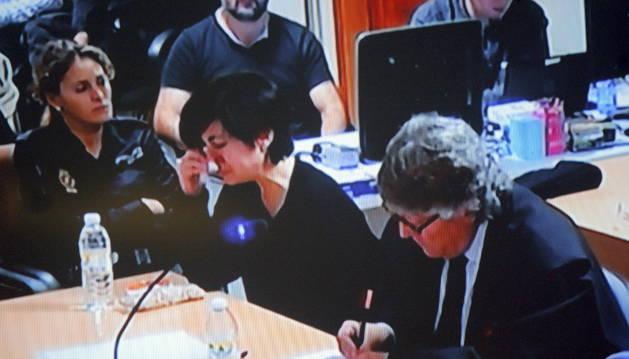 Porto relató episodios violentos de su exmarido pero nunca con Asunta
