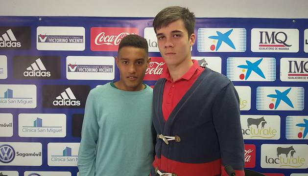 Antonio Otegui y Javi Martínez.