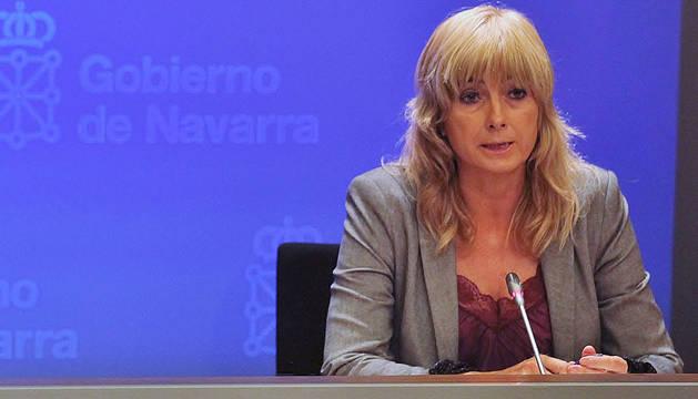 La portavoz del Gobierno, Ana Ollo.