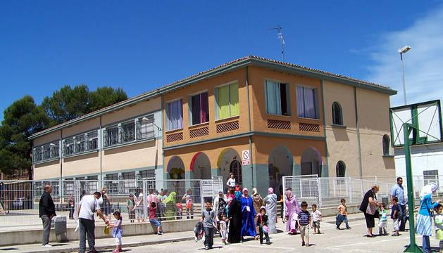 Colegio Alfonso X el Sabio de San Adrián.