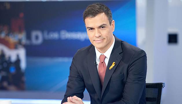 Pedro Sánchez, en Los Desayunos de TVE.