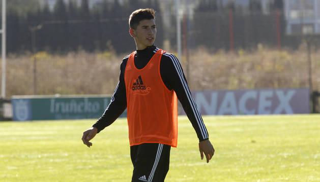 David García, en Tajonar.