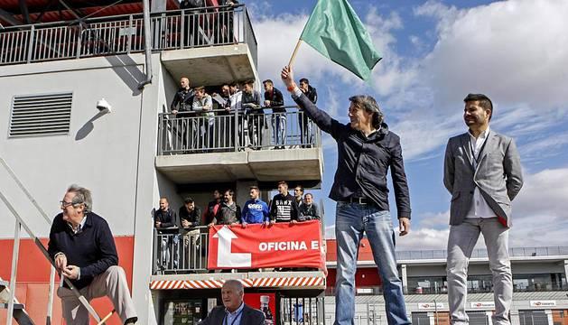Osasuna visita el Circuito de Navarra