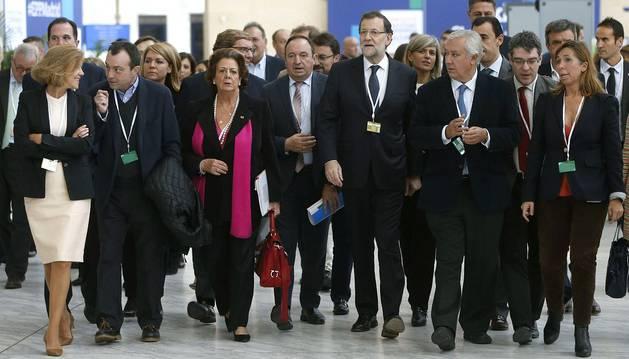 Rajoy asegura que sólo gobernará si el PP es la fuerza más votada
