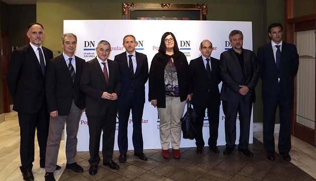 Jornadas organizadas por el Banco Popular y Diario de Navarra.